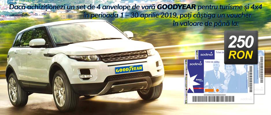 Promotie Goodyear vara 2019