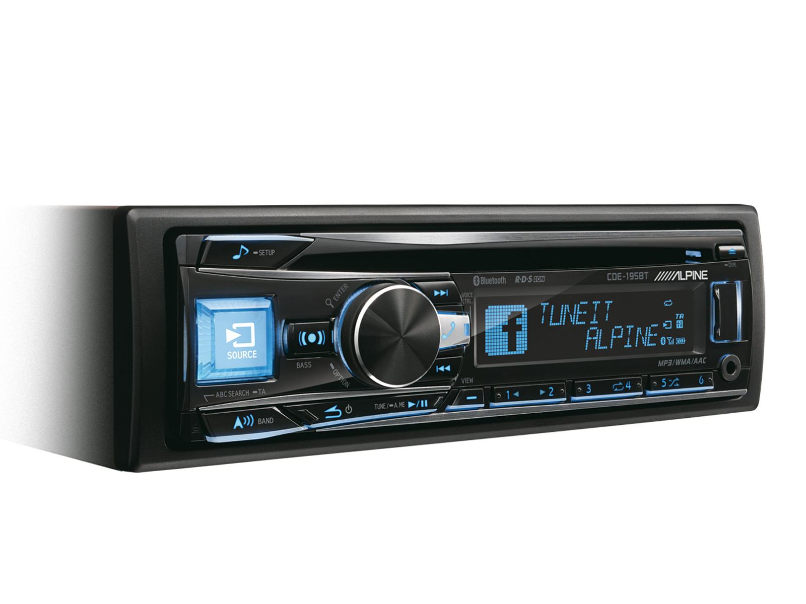 RADIO CD/USB/BLUETOOTH Alpine CDE-195BT