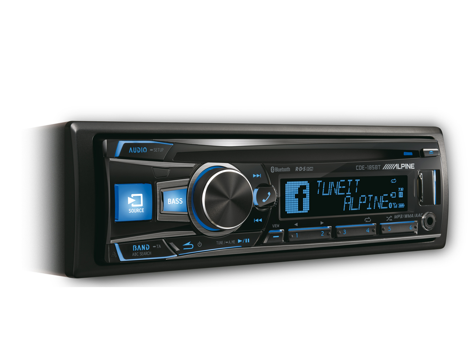 RADIO CD/USB/BLUETOOTH ALPINE CDE-185BT