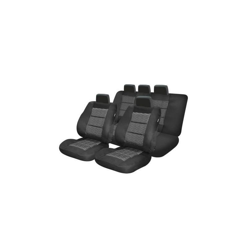 Set huse auto Umbrella Premium Lux M04 11 Piese Negru