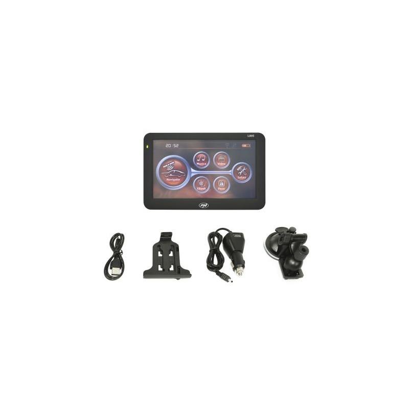 Sistem de navigatie GPS PNI L805 ecran 5 inch 800 MHz 256M DDR3 8GB memorie interna FM transmitter