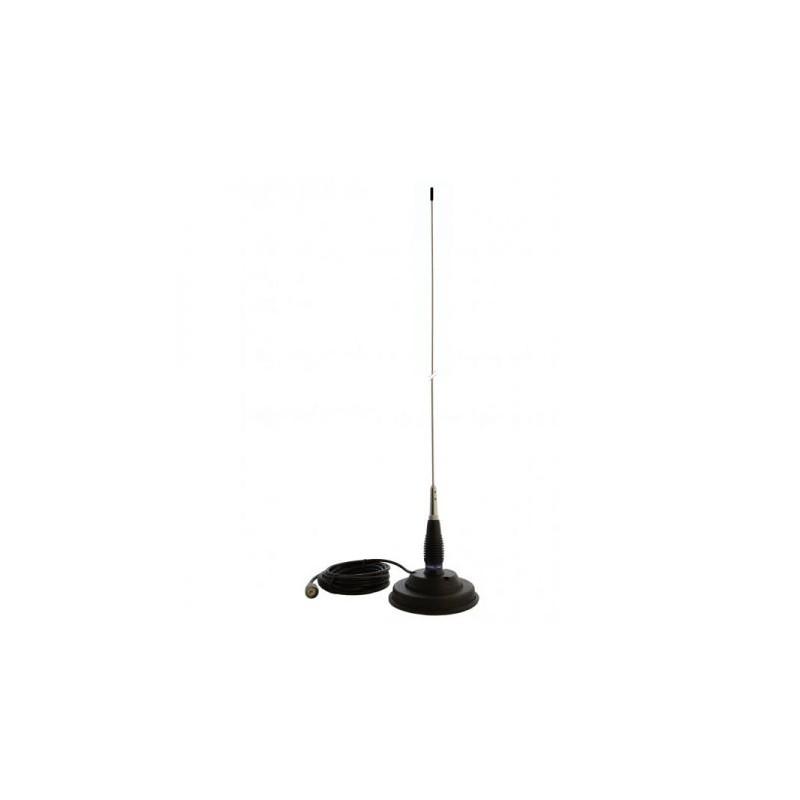 Antena statie radio CB PNI ML145 145 cm Magnet 125 mm