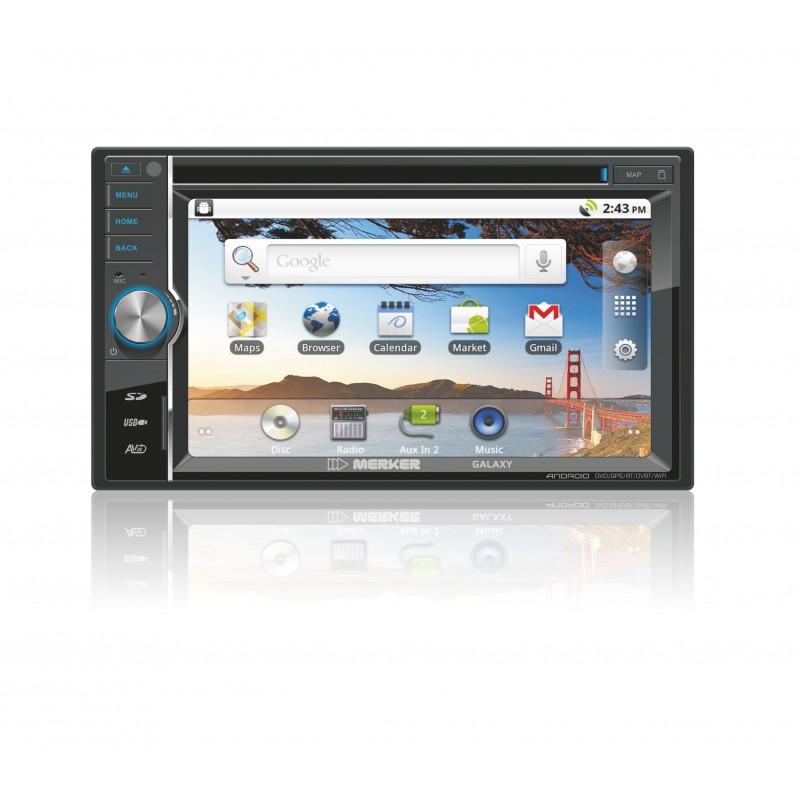 Navigatie GPS / Bluetooth / Ipod/ Usb / TV MERKER GALAXY DVD auto