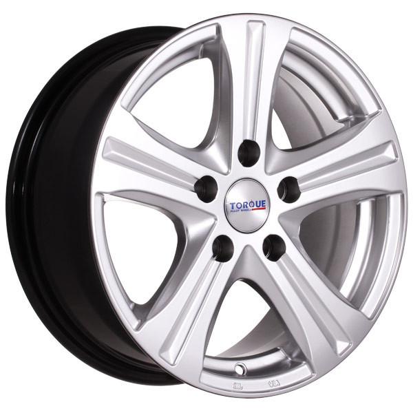 Janta aliaj 15 Inchi Torque Wheels Arctic 7605 5x114 ET 35 Latime 6,5 inchi