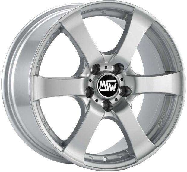 Janta aliaj 17 Inchi Msw 15 Silver 5x120 ET 40 Latime 8 inchi