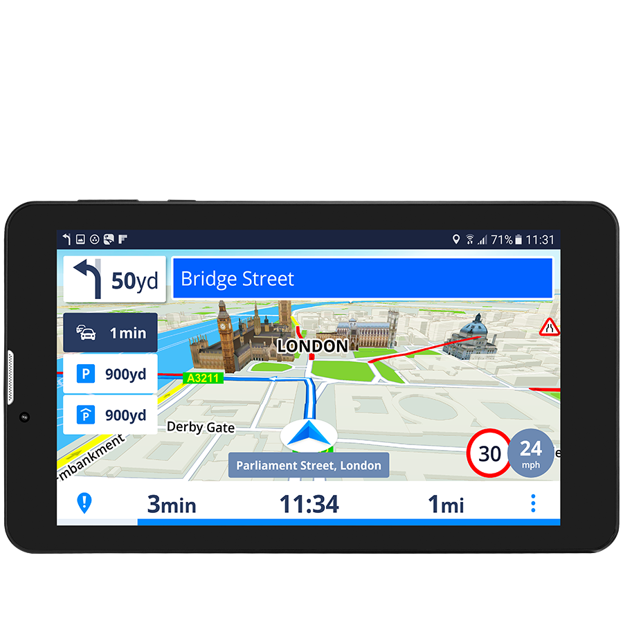 Sistem de navigatie cu GPS, PRESTIGIO GeoVision Tour 3 PGPS7799EU16GBSG Harta Europa si actualizari gratuite pe viata (PGPS7799EU16GBSG)
