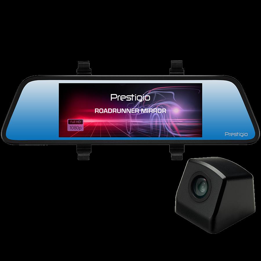 Camera video auto PRESTIGIO RoadRunner Mirror,