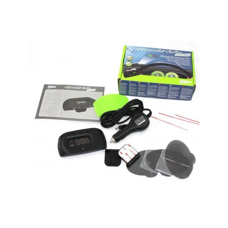 Dispozitiv pentru afisarea vitezei pe parbriz, Valeo Head-up Display